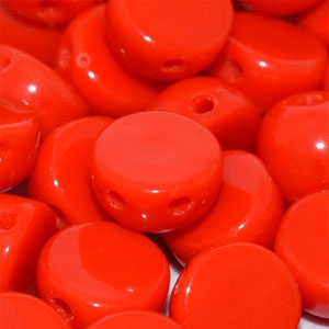Opq Red- 6mm - 20 pieces