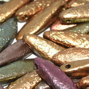 Etch Purple Iris Gold 20 pcs