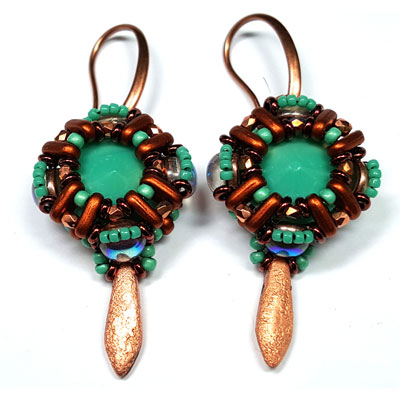DEKKO COPPER earring kit