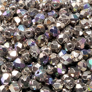 Cry Glittery Argentic- 50 pcs