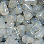 Spike 5x8mm, White Opal 01000