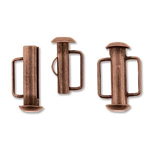Slide Bar Tube 16.6mm - Copper Plated