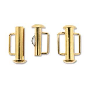 Slide Bar Tube 16.6mm- Gold Plated
