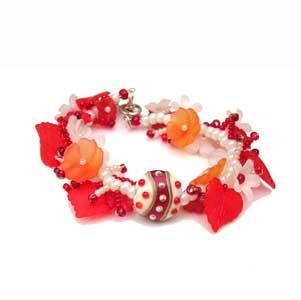 LGK Red White Orange