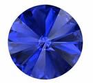 12mm Sapphire Rivoli