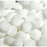 Chalk White- 6mm - 20 pieces