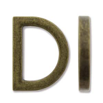 ONE-Ant Brass 14.75mm D-Ring
