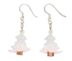 Lucite White Xmas Tree w/c