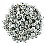 Metallic Silver apx 50pcs