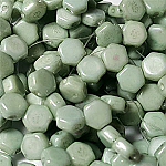 CW Green Luster - 30 beads