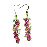 Hydrangea Earrings PDF