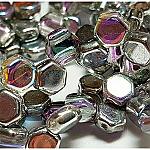 Crystal Silver Rainbow- 30 beads