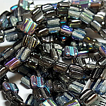 Graphite Rainbow apx 30 beads