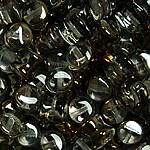 Czech Pellet 4x6mm Crystal Valentinite