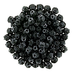 Matt Black Coal apx 50pcs