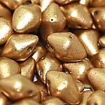Aztec Gold -4x6mm, apx 50 pcs