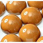Khaki -5 beads - 14x8