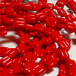 Opq Red apx 30 beads