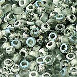 Etch 8 Silver Rnbw Dark apx 11.5g