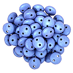 6mm, METALLIC SUEDE-Blue Shoes, LEN06-79031