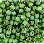 Green Turq Picasso- 50pcs