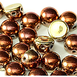 Black Hills Gold- 6mm - 20 pieces